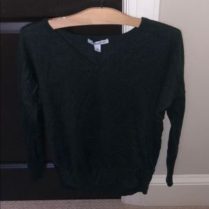 Hunter green Autumn Cashmere V neck sweater